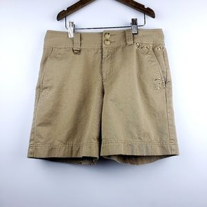 Women's Lauren Ralph Lauren Khaki Shorts